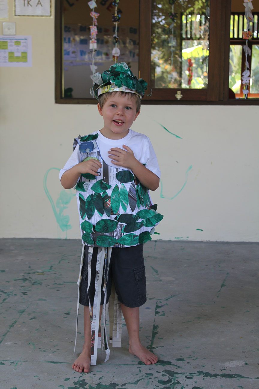 Tom - Earth Day at Kindy