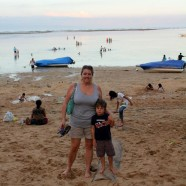 Sand, Sanur and the Super Moon