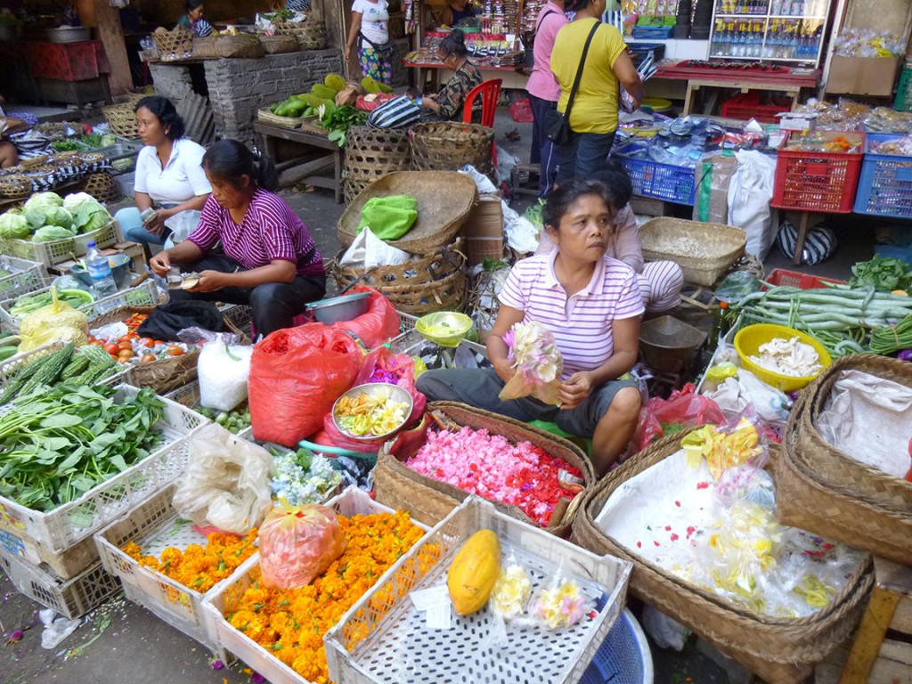 Ubud Market Offerings