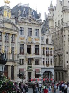 Charbing Belgiun Buildings