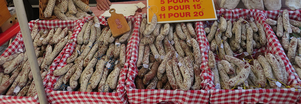 Food Glorious Food; The French Markets