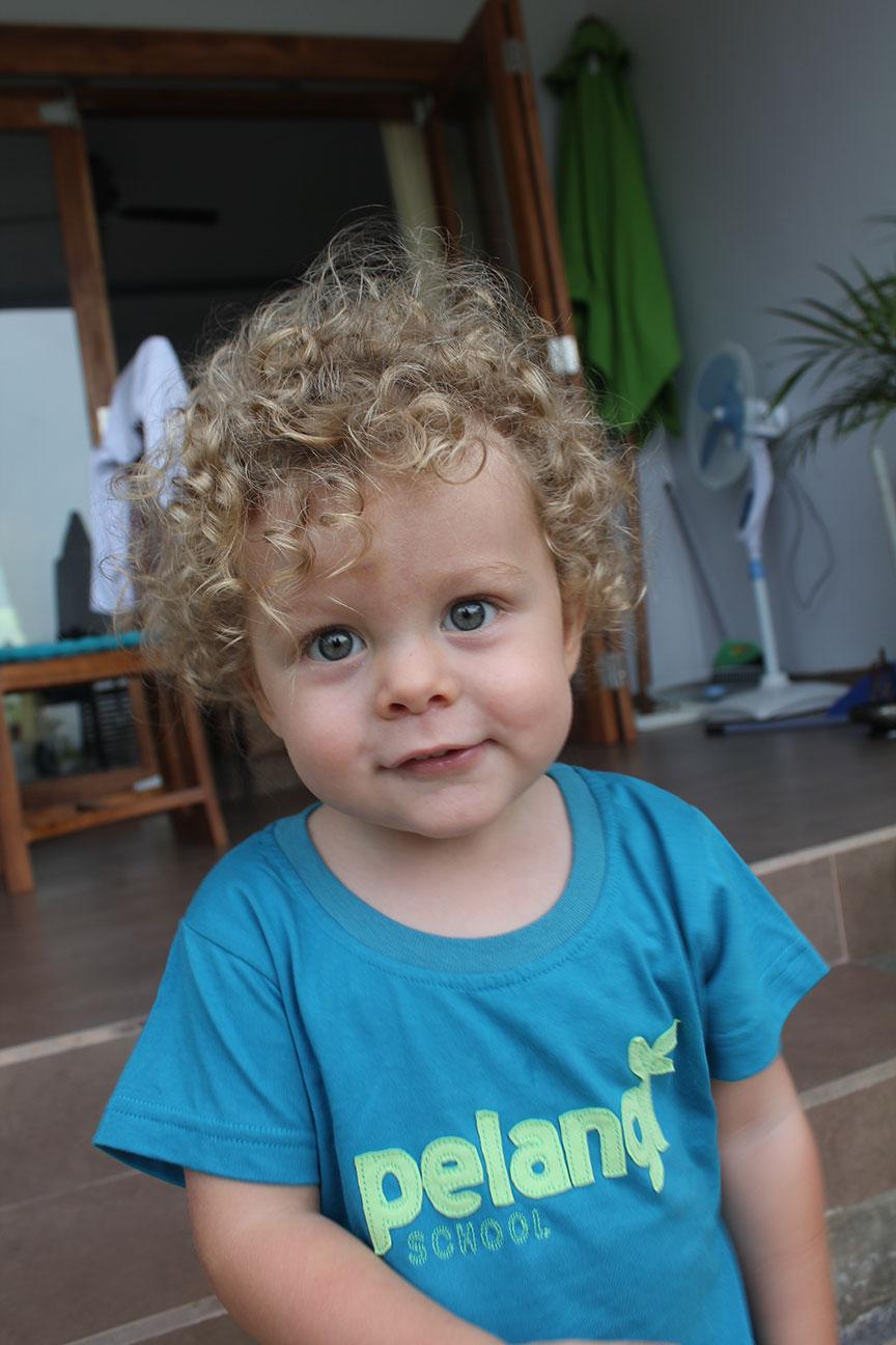 Milo - School photo day