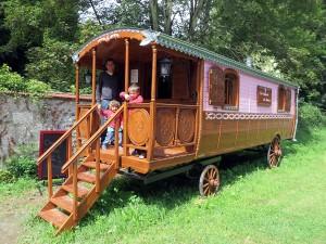 Pancake-caravan